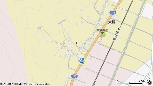 〒669-2105 兵庫県丹波篠山市犬飼の地図