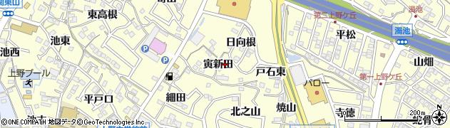 愛知県東海市名和町(寅新田)周辺の地図