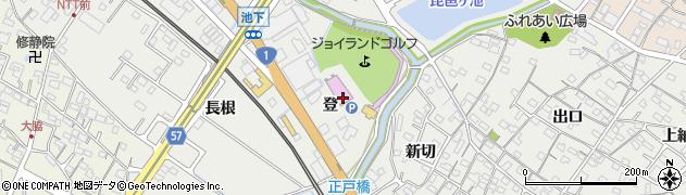 愛知県豊明市阿野町(登)周辺の地図