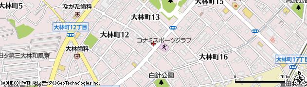 ランチ630周辺の地図