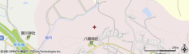 滋賀県日野町(蒲生郡)佐久良周辺の地図