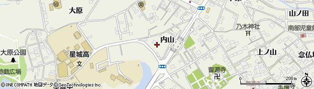 愛知県豊明市栄町(内山)周辺の地図