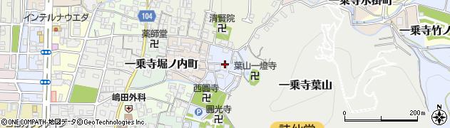 京都府京都市左京区一乗寺葉山町周辺の地図
