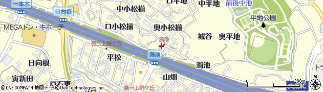 愛知県東海市名和町(奥小松揃)周辺の地図