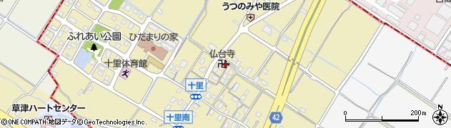 仏台寺周辺の地図