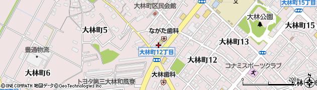 博多ラーメン有頂天 豊田大林店周辺の地図