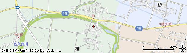 滋賀県蒲生郡日野町杣周辺の地図