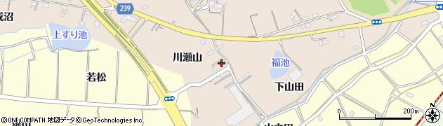 愛知県刈谷市井ケ谷町(川瀬山)周辺の地図