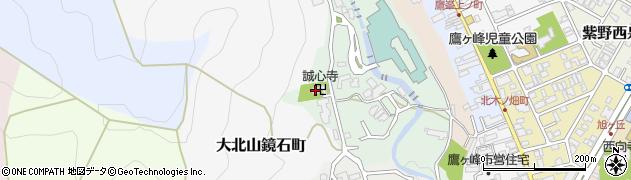 誠心寺周辺の地図