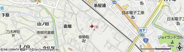 愛知県豊明市阿野町(大高道)周辺の地図