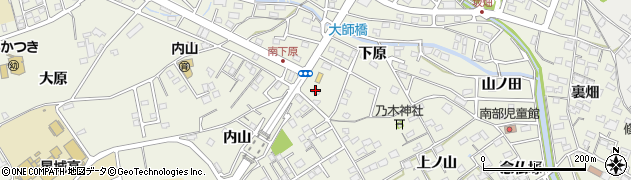 愛知県豊明市栄町(南下原)周辺の地図