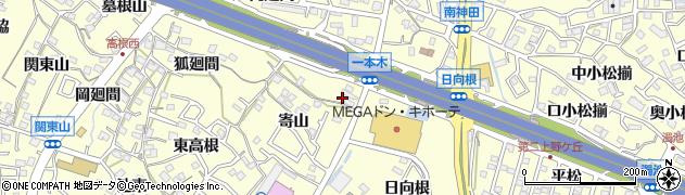 愛知県東海市名和町(一本木)周辺の地図