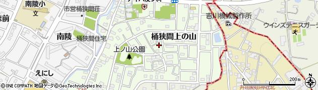 愛知県名古屋市緑区桶狭間上の山周辺の地図