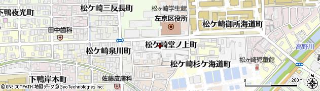 京都府京都市左京区松ケ崎堂ノ上町周辺の地図