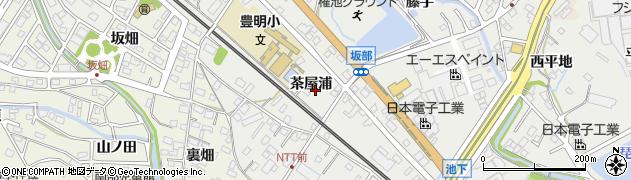 愛知県豊明市阿野町(茶屋浦)周辺の地図