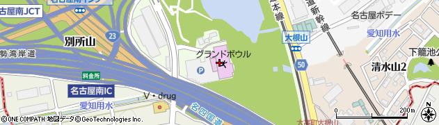 有限会社白雲閣周辺の地図