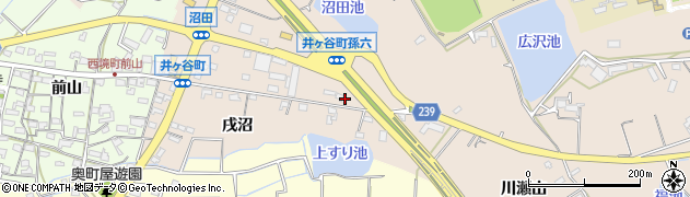 愛知県刈谷市井ケ谷町(孫六)周辺の地図