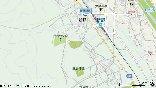 〒679-3114 兵庫県神崎郡神河町新野の地図