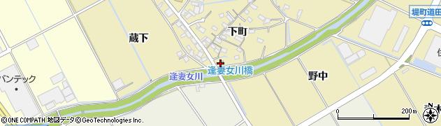 千加良周辺の地図