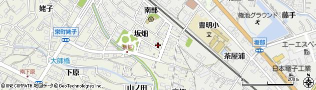 愛知県豊明市栄町(坂畑)周辺の地図