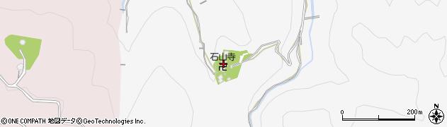 石山寺周辺の地図