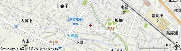 愛知県豊明市栄町(南姥子)周辺の地図
