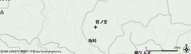 愛知県豊田市花沢町(菅ノ堂)周辺の地図