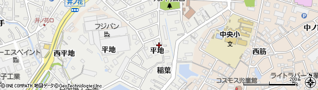 愛知県豊明市阿野町(平地)周辺の地図