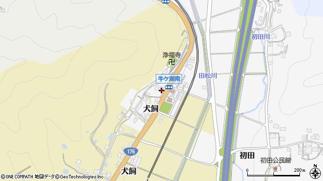 〒669-2106 兵庫県丹波篠山市牛ケ瀬の地図