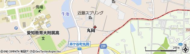 愛知県刈谷市井ケ谷町(丸岡)周辺の地図