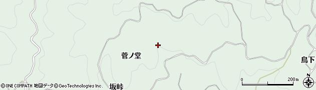 愛知県豊田市花沢町(柳ケ入北)周辺の地図