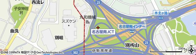 愛知県名古屋市緑区茨谷山周辺の地図