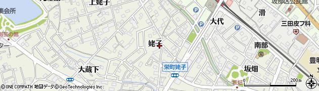 愛知県豊明市栄町(姥子)周辺の地図