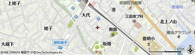 愛知県豊明市阿野町(大代)周辺の地図
