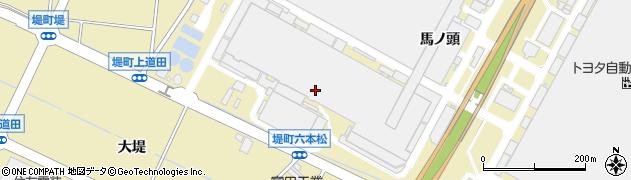 愛知県豊田市堤町(釣鐘)周辺の地図