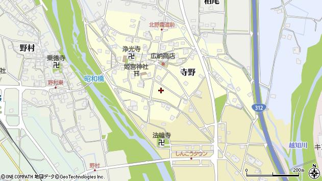 〒679-2423 兵庫県神崎郡神河町寺野の地図