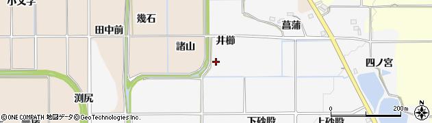 京都府亀岡市河原林町河原尻(井櫛)周辺の地図