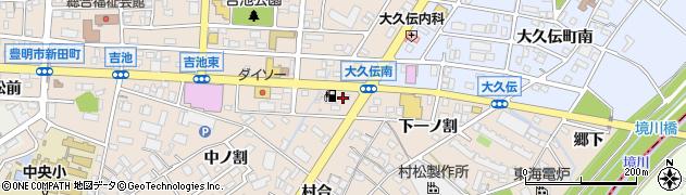 ほっともっと豊明新田町店周辺の地図