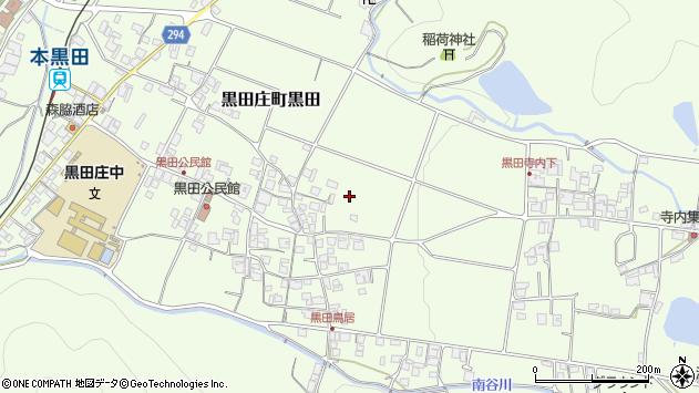 〒679-0302 兵庫県西脇市黒田庄町黒田の地図
