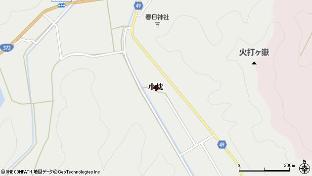〒669-2461 兵庫県丹波篠山市小枕の地図