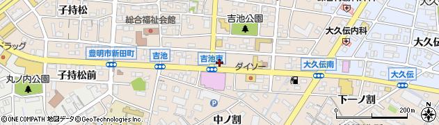 JapaneseSteak‐Italianパスト(Pasto) 豊明店周辺の地図