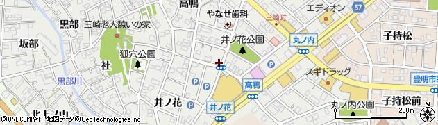HAT周辺の地図