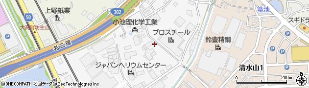 愛知県名古屋市緑区大根山周辺の地図