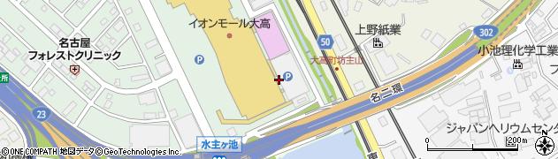 愛知県名古屋市緑区大高町(山之田)周辺の地図
