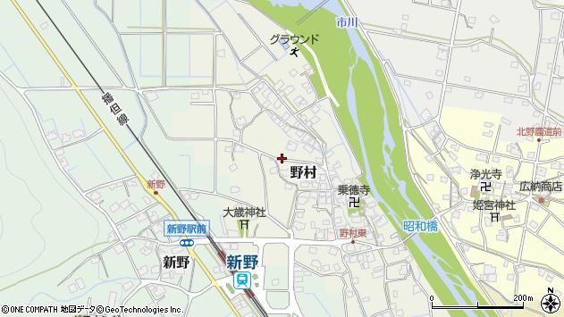 〒679-3113 兵庫県神崎郡神河町野村の地図
