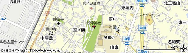 船津神社周辺の地図