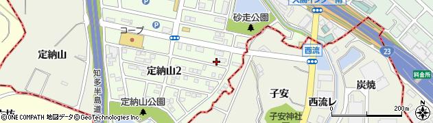 愛知県名古屋市緑区大高町(西峡)周辺の地図
