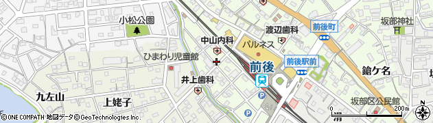 愛知県豊明市前後町(大代)周辺の地図