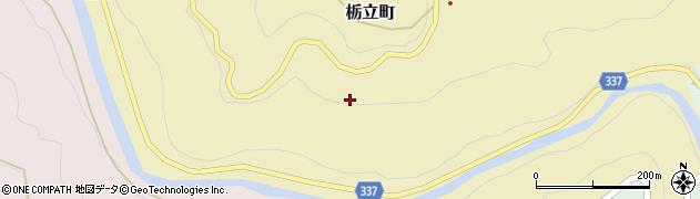 愛知県豊田市栃立町(黒土)周辺の地図