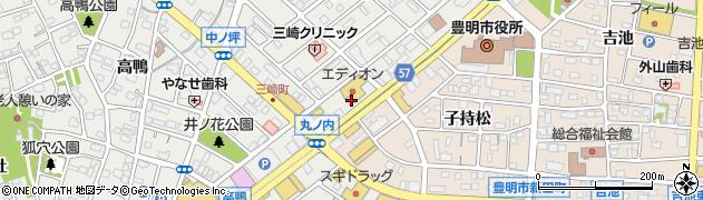 ナイトパブ桜城周辺の地図